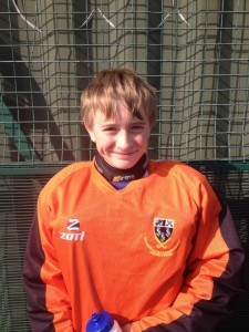 Congratulations to C&F goalkeeper selected for Surrey!